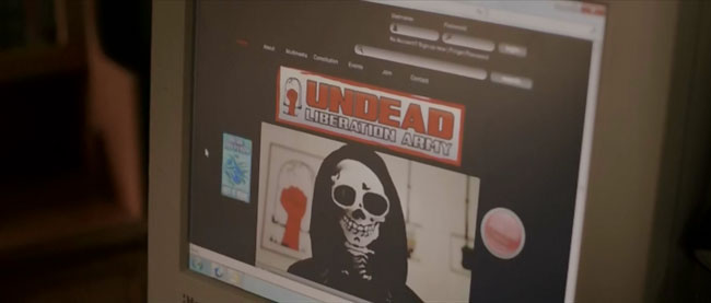 Undead Liberation Army website (In the Flesh)