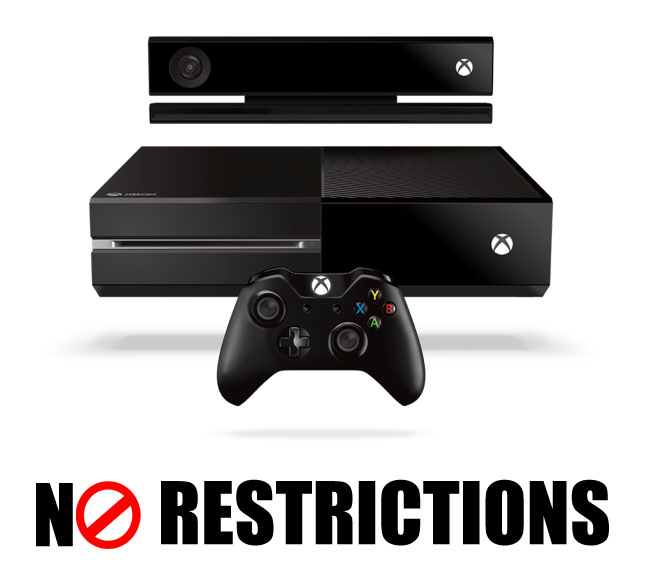 Xbox One No Restrictions