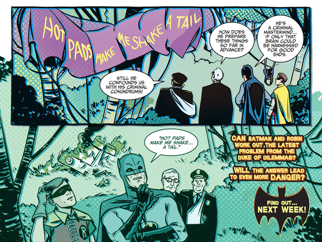 Batman '66 1 (cliffhanger)