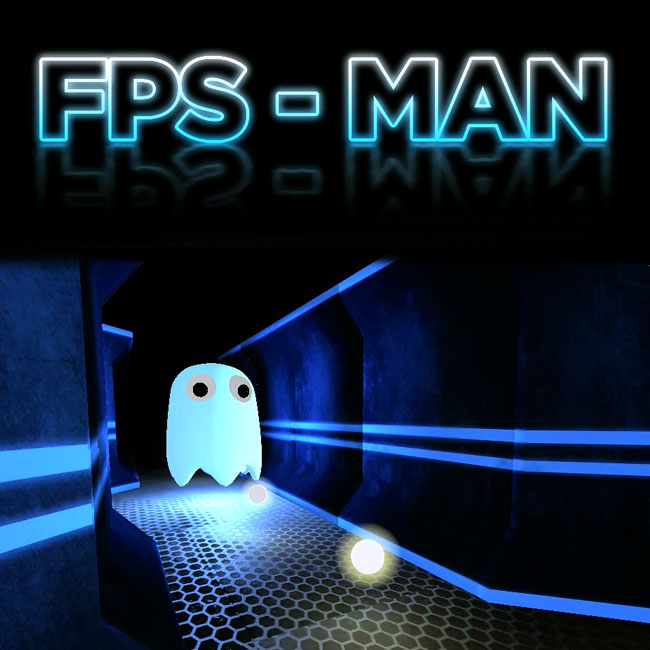 FPS-Man First Person Shooter Pac-Man