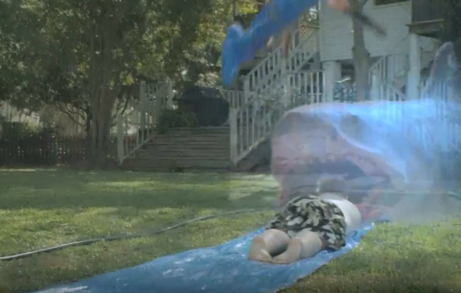 Ghost Shark SyFy Preview (Slip N Slide)