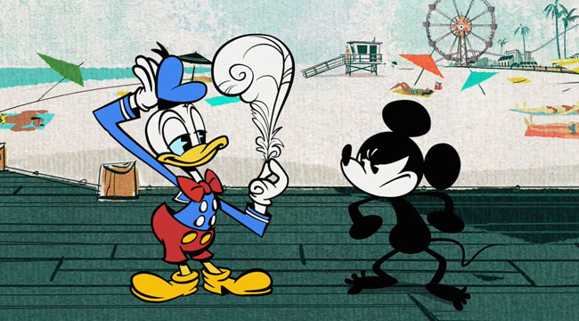 Mickey Mouse Shorts (No Service - Mickey Mouse Naked)