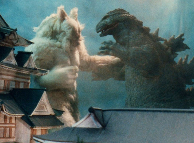 Wolfman VS Godzilla Lost Film Found