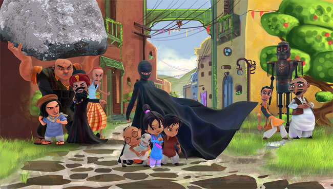 Burka Avenger Fights Sexism