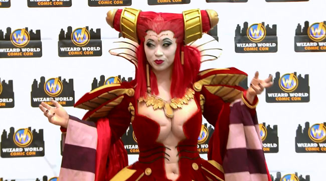 Heroes of Cosplay - Yaya Han as Carmilla from Vampire Hunter D: Bloodlust