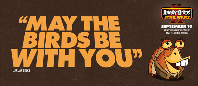 May the Birds be With You in Angry Birds Star Wars II