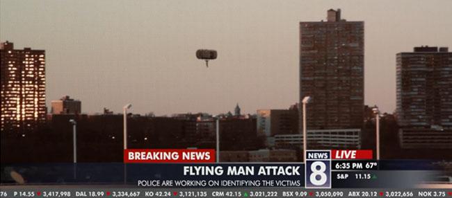 The Flying Man Short