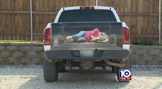3D Decal Kidnapping Hoax