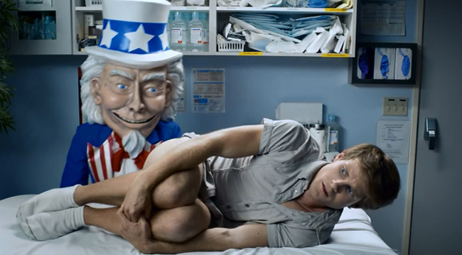 Anti Obamacare Commercial Features Creepy Uncle Sam