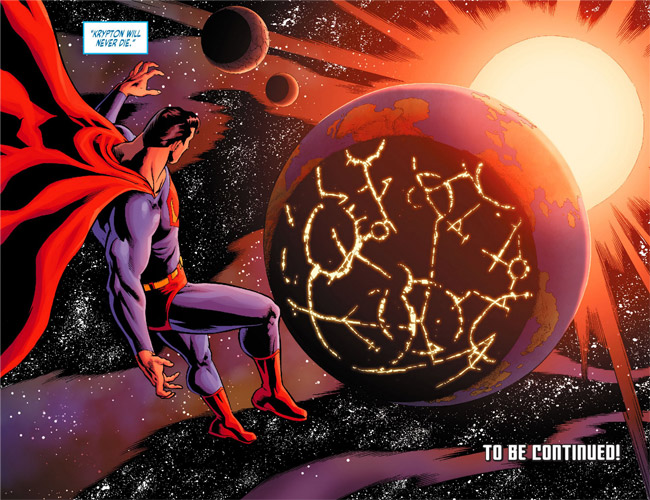 Krypton Not Destroyed (Adventures of Superman 22)