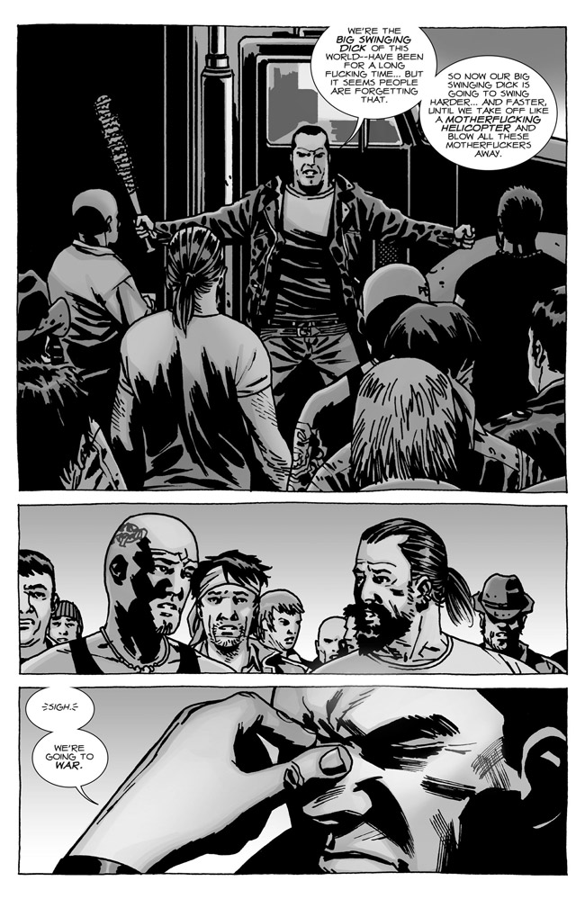 Of Course You Realize This Means War (The Walking-Dead 114 - Negan)