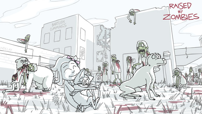 Q & A with Raised by Zombies Creator Guy Collins