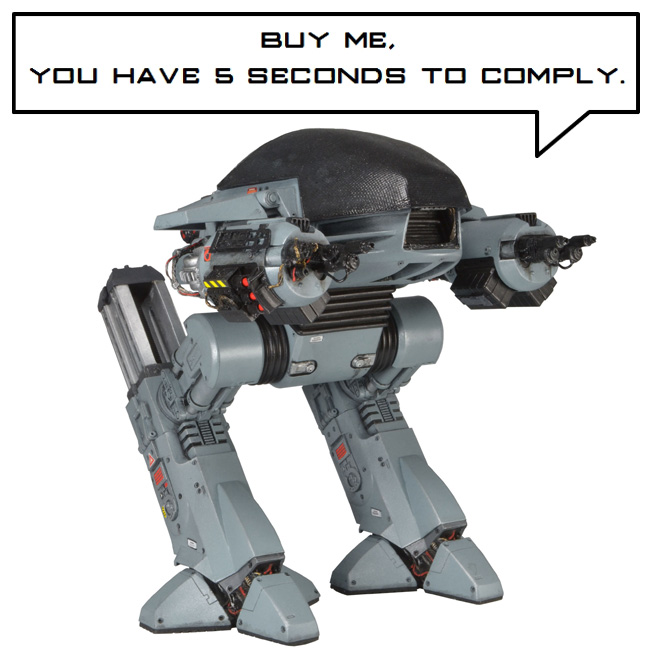 Robocop ED-209 Action Figure