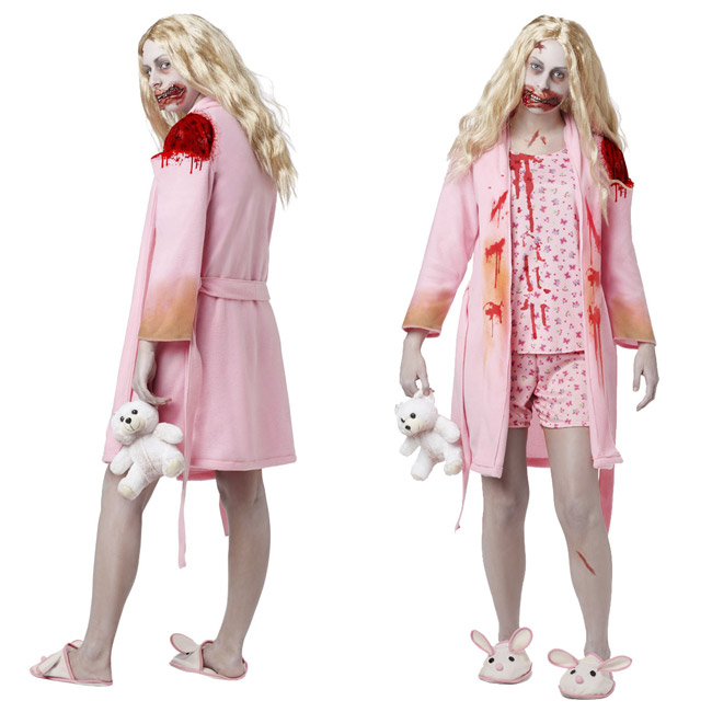 Sexy Walking Dead Costume (bunny slipper girl)