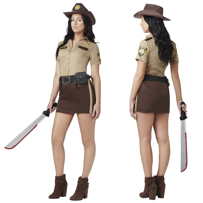 Sexy Walking Dead Costume (sassy Rick Grimes)