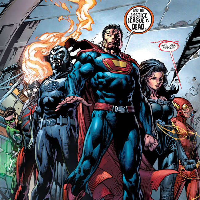 The Justice League is Dead (Forever Evil #1)