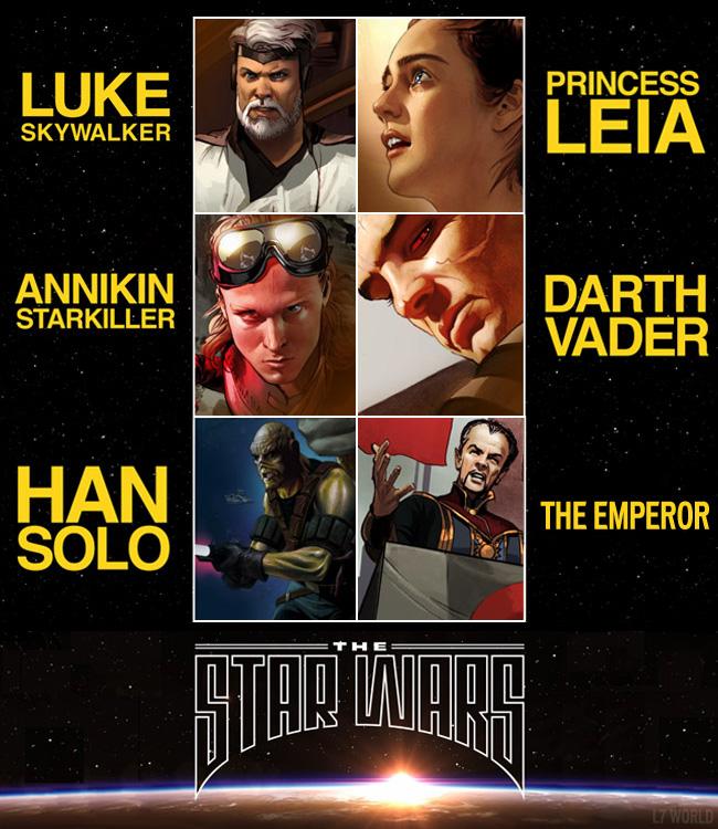 The Star Wars Original Script Comic Adaptation
