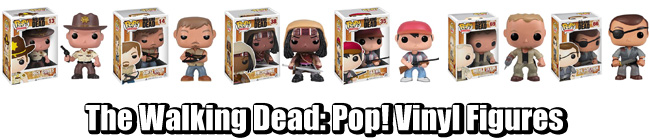 The Walking Dead Pop Vinyl Figures