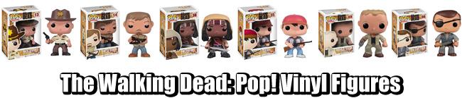 The Walking Dead Pop Vinyl Figures