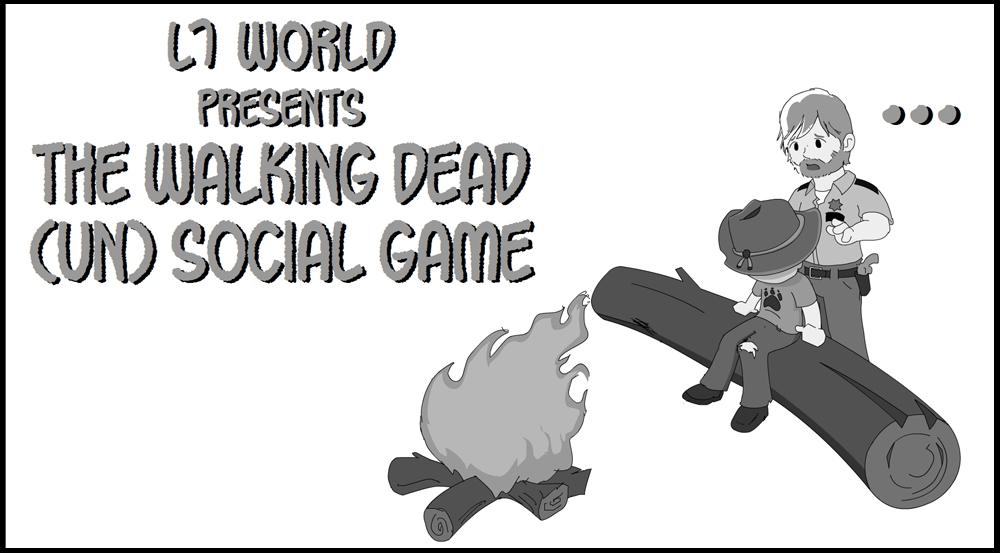 The Walking Dead (un) Social Game 1