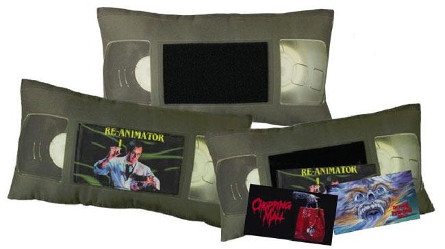 VHS Pillow Dream Gift for Horror Fans