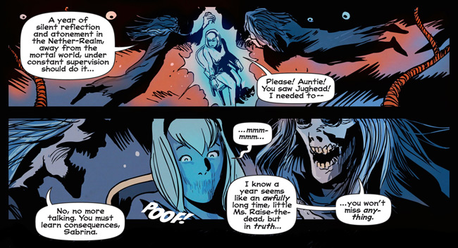 Afterlife with Archie #1 Review (Sabrina the Teenage Witch and Aunts Hilda and Zelda Spellman)