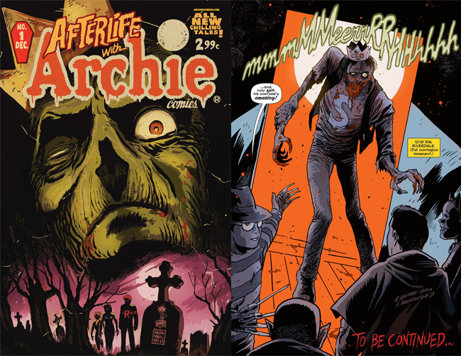 Afterlife with Archie #1 Review