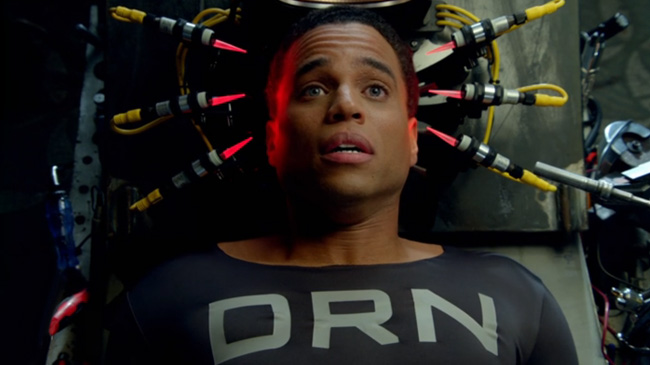 Almost Human preview clip (Michael Ealy as Dorian - DRN)