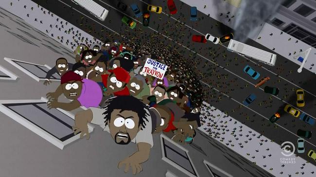 Black Zombies Invade South Park (World War Zimmerman)