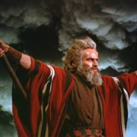 Charlton Heston moses