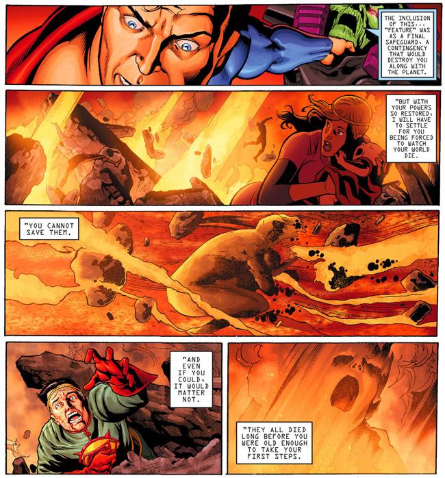 Krypton Destroyed Again