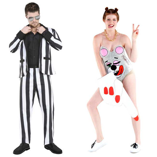 Miley Cyrus Halloween Costume  (Robin Thicke)