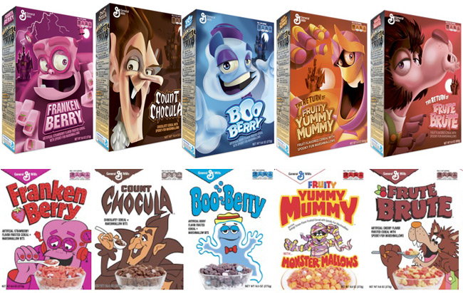 Monster cereals back for Halloween