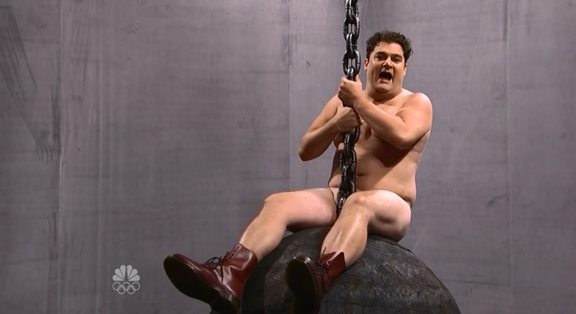 Saturday Night Live Miley Cyrus Wrecking Ball Bobby Moynihan