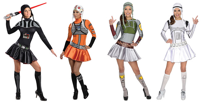 Sexy Star Wars Costume Dresses for Halloween