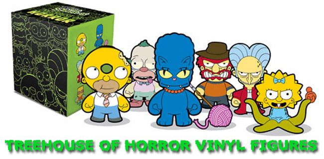 The Simpsons Treehouse of Horror Vinyl Figures