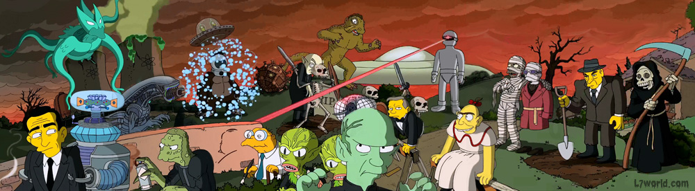 The Simpsons Treehouse of Horror XXIV Couch Gag