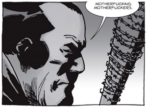 The Walking Dead Negan cursing