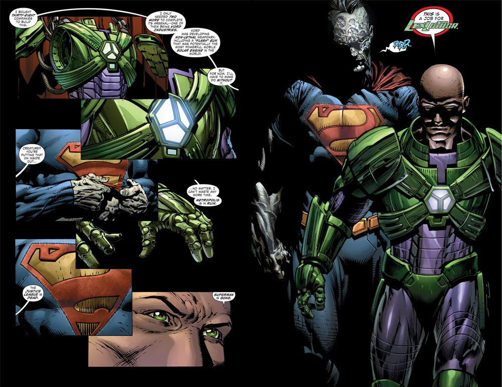 This is a Job for Lex Luthor (Forever Evil 2)