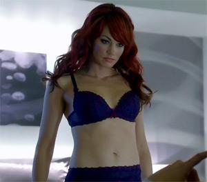 Almost Human Skin (redhead sexbot Charlene - Darla-Taylor)