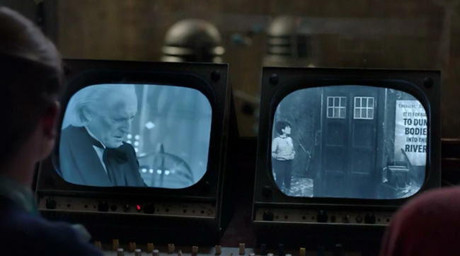 An Adventure in Space and Time Doctor Who First Doctor (David Bradley) Susan (Claudia Grant)