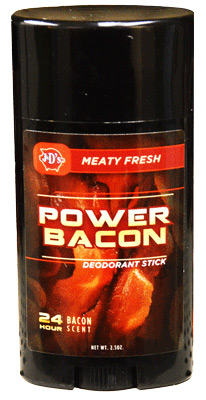 Bacon deodorant for when you sweat like a pig