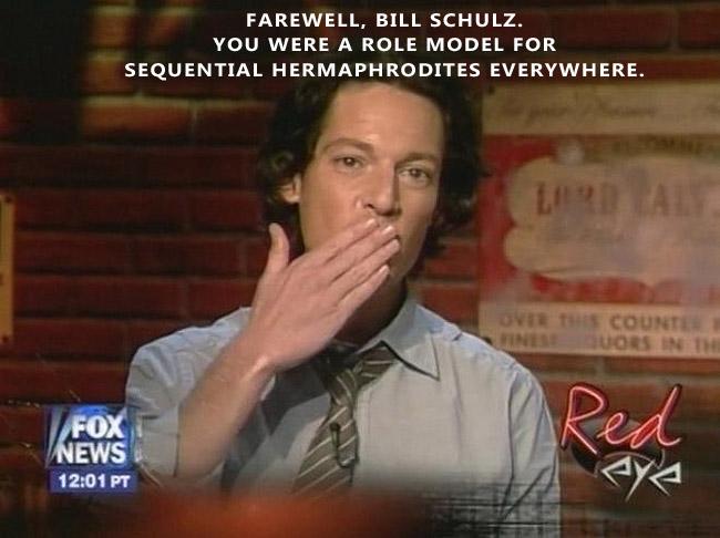 Bill Schulz Leaves Red Eye