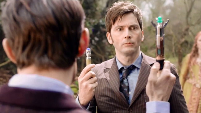 Doctor Who David Tennant vs Matt Smith (The Day of the Doctor)