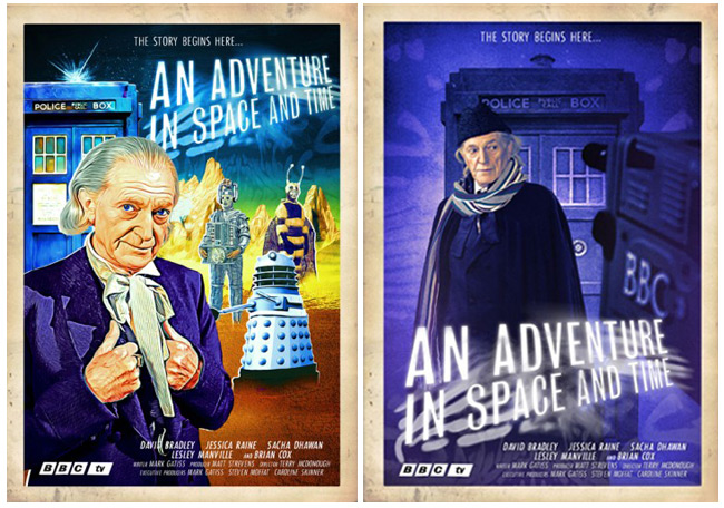 Doctor Who Documentary Revisits the Past (An Adventure in Space and Time)
