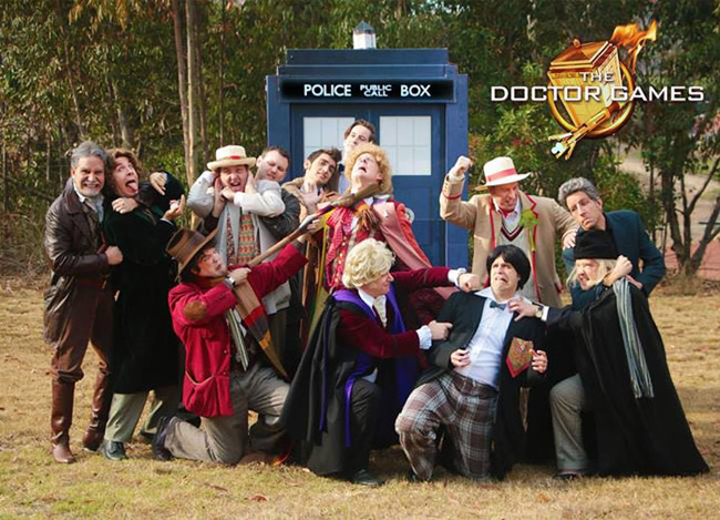 Doctor Who Hunger Games Parody