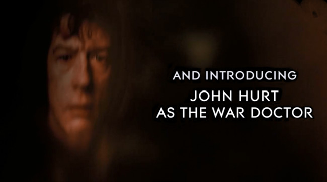 Doctor Who mini-episode The Night of the Doctor (War Doctor John Hurt)