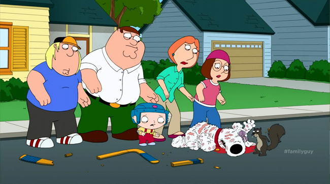 Family Guy Brian Griffin dies (Life of Brian)