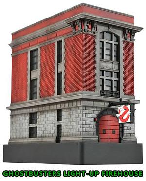 Ghostbuster light-up firehouse