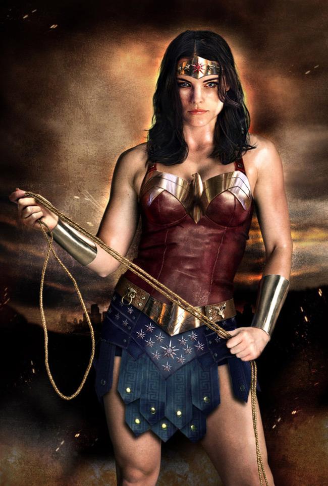 Jamie Alexander Wonder Woman